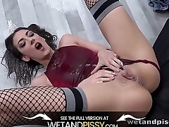 Wetandpissy - Piss Drenched Miky - Wet Porn