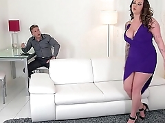 Harmony Reigns unleashes will not hear of Big tits &amp_ rides a Stiff cock