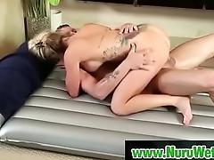Incomparable masseuse gives big nuru wet pleasure - MrPete &amp_ ChloeAddison