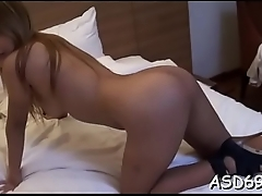 Coarse banging of a thai babe