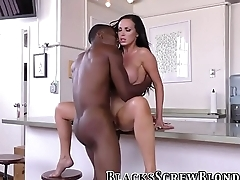Whore ass rides black rod
