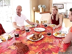 compeer'_s daughter in law Spanksgiving With The Family