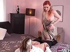 Russian MILF gags on English cock(Eva Berger) 02 vid-14