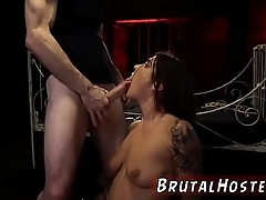 Blonde brutal anal dildo and midget extreme deep throat xxx They