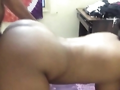 Desi big boob wife getting her big ass drilled by her hubby in doggystyle