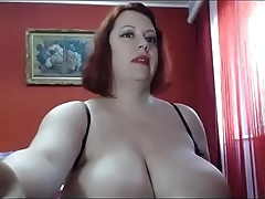 Milf huge tits teasing live webcam sex