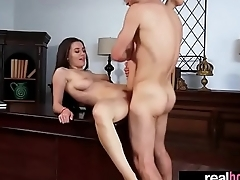 (lana rhoades) Horny Teen Girl Like To Bang Hard On Camera vid-14