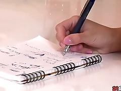 Schoolgirl Failed Exam Starring Foxy Di