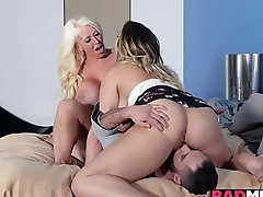 Blair Williams shares a cock relating to her mom Alura Jenson