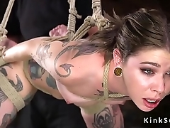 Alt slave spanked and abused in bondage