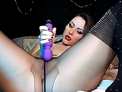 AdalynnX - Sudden Pantyhose Facesit Soaking
