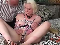Hawt extraordinary bondage home porn