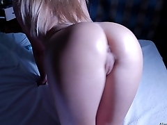 Big Oiled Ass Gets Hard Fuck POV, 4K (Ultra HD) - Alena LamLam