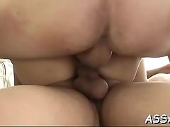 Sensational oriental anal pounding