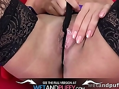 Wetandpuffy - Stockings And Suspenders - Cherry Pussy