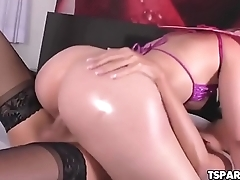 Trans Beauty Barbara Perez Bangs A Hot Girl