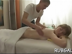 Hallow button massage