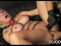 Sloppy bj from restrained doxy