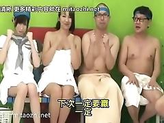日本母女VS父子4P