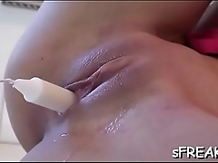 Superb slit ravaging scene