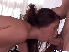 Bigtit babe banged in gaping asshole