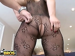 BANGBROS - Latina Named Gia Shows Off The brush Amazing Big Ass &amp_ Big Tits