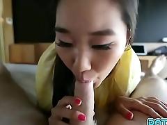 Date Slam - 20yo Asian pornstar Katana has pussy cum filled