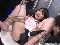 hardcore busty asian japanese punishment (watch more at www.maniacporn.com)