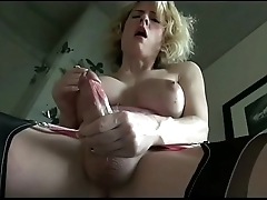 shemale real orgasm