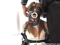 Submissive Asian Teen In Japanese BDSM Scene