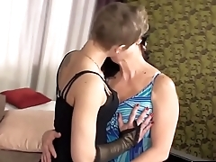 LesbianCums.com: Taboo Mom and Lesbian Daughter