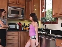 LesbianCums.com: Daughter Facesiting Personate Mom Pussy