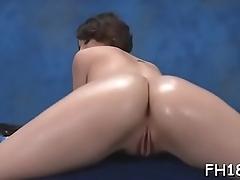 Massage seduction small screen