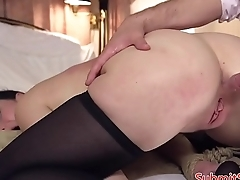 Assfucked sub tiedup and dominated over