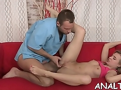 Wicked cum-hole pump playing