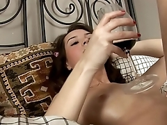 Hot Brutal Orgasm With Toys!