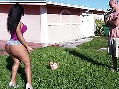 BANGBROS - Latina Rose Monroe'_s Big Ass Bouncing On Sean Lawless'_s Cock