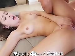 Exotic4k Flexible brunette Alina Lopez juicy pussy fucked