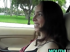 Petite Teen Michelle Heart Gets Slammed