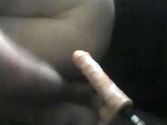My first sex machine fuck