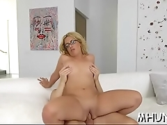 At last sexy milf reaches orgasms