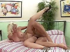 Do you like watching me get fucked by a male pornstar