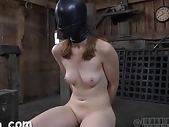 Hot slave delights with fellatio