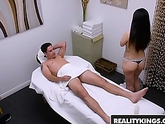 RealityKings - Happy Tugs - (Nari Park) - Asian masseuse cockriding and jerking