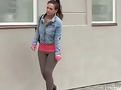 Unbowdlerized To Pee In Public, Young Girl Wets Herself A Little