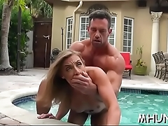 Pussy-hammering with sexy milf