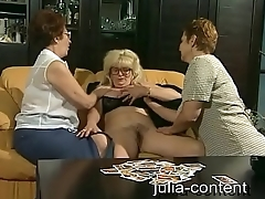 Grandmas do threesome Sexual connection