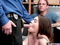 BF Watches Officer Slamming His Filching GF