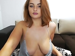 Hot slut live strip tease