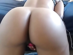 Big booty black chat girl live show